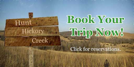 Reserve your hunting adventure with Hunt Hickory Creek.